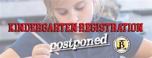 k registration postponed